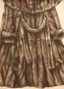 Ingrid_Berger_Bontjas-1--Skindeep-2014-houtskool-op-papier-107-X-150-cm