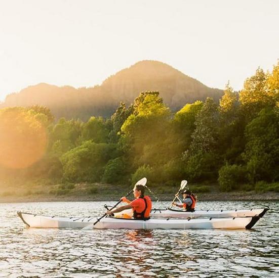 kayakclub actie, ORU KAYAKS huren in Nederland, huur een Oru kayak tijdens je herfstvakantie